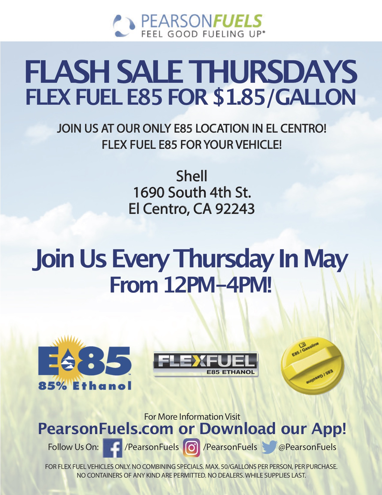 Shell – El Centro, CA 92243